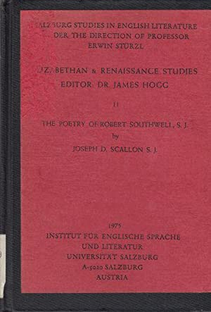 The Poetry of Robert Southwell, S. J.