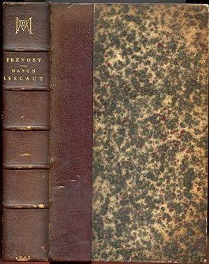 Collection de Galaup de Chasteuil. Manon Lescaut: L'Abbe Prevost; Dumas,