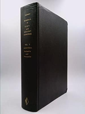 Vol III Carnivora (Fissipedia and Pinnipedia) Mammals: S I Ognev