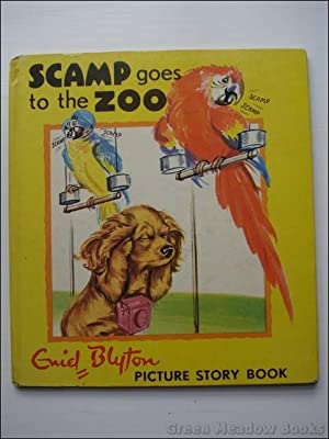 SCAMP GOES TO THE ZOO Picture Story Book Number 3.