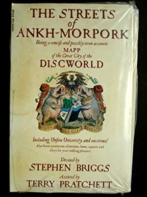 THE STREETS OF ANKH-MORPORK Being A Concise and Possibly Even Accurate MAPP of the Great City of ...