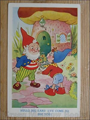 NODDY POSTCARD HULLO BIG EARS! I'VE COME TO SEE YOU!