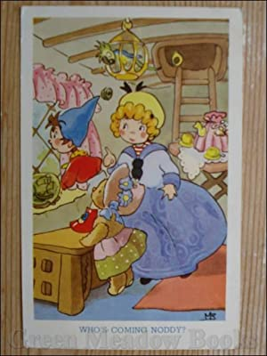 NODDY POSTCARD WHO¿S COMING NODDY?