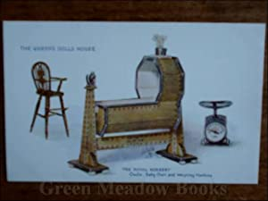QUEEN¿S DOLLS¿ HOUSE POSTCARD THE ROYAL NURSERY