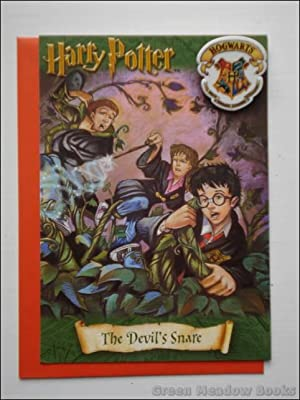 HARRY POTTER GREETING CARD WITH BADGE