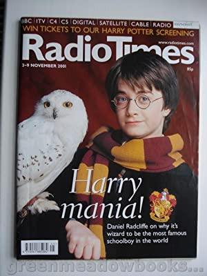 HARRY POTTER COVER AND DANIEL RADCLIFFE FEATURE in RADIO TIMES