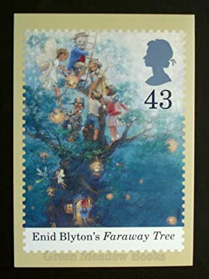 POSTCARDS: STAMP CARD FARAWAY TREE