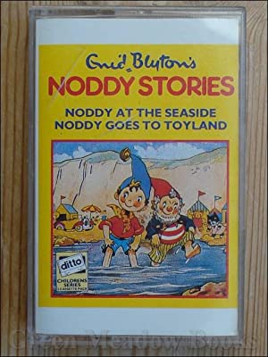 AUDIO TAPE: CASSETTE: ENID BLYTON'S NODDY STORIES: NODDY GOES TO TOYLAND & . AT THE SEASIDE ( tap...