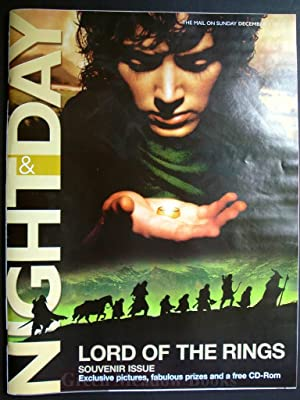 LORD OF THE RINGS - SOUVENIR ISSUE OF NIGHT & DAY