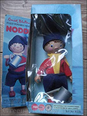 NODDY FULLY POSABLE FIGURE BY MARX Complete with Watering Can