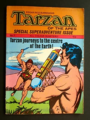 EDGAR RICE BURROUGHS TARZAN OF THE APES SPECIAL SUPERADVENTURE ISSUE TARZAN'S JOURNEYS TO THE CEN...