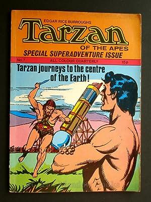 EDGAR RICE BURROUGHS TARZAN OF THE APES SPECIAL SUPERADVENTURE ISSUE TARZAN'S JOURNEYS TO THE ...