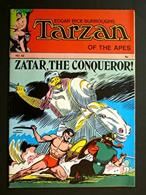 EDGAR RICE BURROUGHS TARZAN OF THE APES No. 62. ZATAR, THE CONQUEROR
