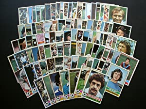 TOPPS FOOTBALL CARDS! ENGLISH SET 1977/78 COMPLETE SET!!! NUMBERS 1 - 330