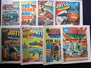 SCARCE AND COLLECTABLE COMICS! BATTLE ACTION 1979 ISSUES! 6th JANUARY 1979 TO 22nd DECEMBER 1979