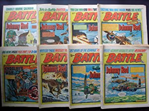 SCARCE AND SOUGHT AFTER! COMICS - BATTLE ACTION - BATTLE 1981 ISSUES! COMPLETE YEAR! 3rd JANUARY ...