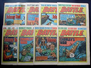 BATTLE 1982 ISSUES 2nd JANUARY, 9th JANUARY, 16th JANUARY, 23rd JANUARY, 30th JANUARY, 6th FEBRUA...
