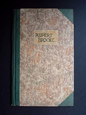 RUPERT BROOKE THE AUGUSTAN BOOKS OF MODERN POETRY