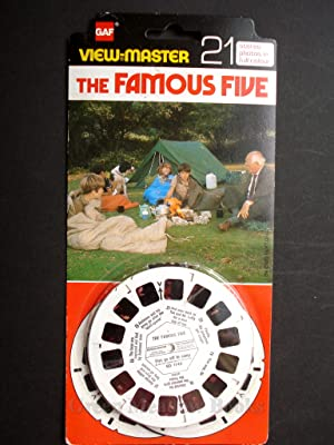 THE FAMOUS FIVE VIEWMASTER STEREO PHOTOS IN FULL COLOUR