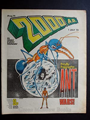 2000 A.D. WEEKLY - PROG 71 DATELINE: 1st JULY 1978 BANNED ISSUE!!