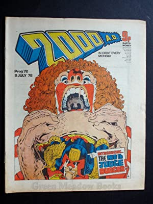 2000 A.D. WEEKLY - PROG 72 DATELINE: 8th JULY 1978 BANNED ISSUE!!