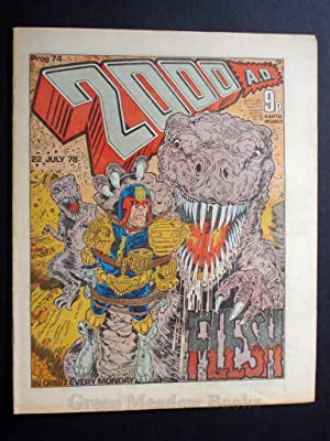2000 A.D. WEEKLY - PROG 77 DATELINE: 12th AUGUST 1978 BANNED ISSUE!!