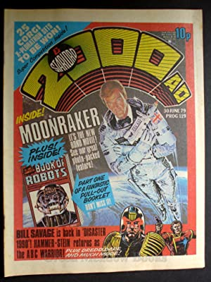 2000 A.D. AND STARLORD WEEKLY - PROG 119 DATELINE: 30th JUNE 1979