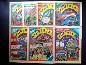 2000 A.D. AND STARLORD WEEKLY - PROG 120, 121, 122, 123, 124, 125, 126 DATELINE: 7th JULY 1979 - ...