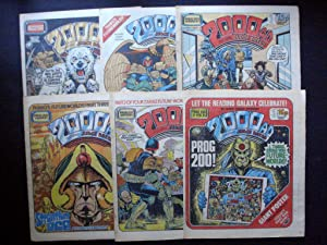 2000 A.D. FEATURING JUDGE DREDD PROG 200, 201, 202, 203, 204, 205 DATELINE: 21st FEBRUARY 1981 - ...