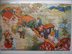 NODDY JIGSAW: NODDY ON THE RUNAWAY TRAIN