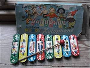 ENID BLYTON'S NODDY XYLOPHONE A GREEN MONK PRODUCT