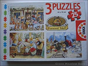 FOXWOOD TALES, THREE JIGSAW PUZZLES