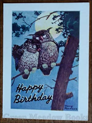 BIRTHDAY GREETING CARDS SET OF FIVE GORGEOUS ORIGINAL CARDS!