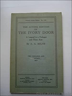 THE ACTING EDITION OF THE IVORY DOOR