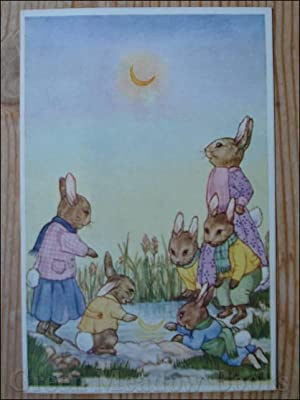 MOON MAGIC No. 6 - RABBIT FAMILY