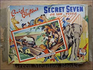 SECRET SEVEN JIG SAW PUZZLE - SECRET SEVEN ON THE LOOK-OUT - BESTIME JIGSAW PUZZLE Number 24 in S...