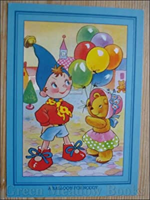 NODDY POSTCARD A BALLOON FOR NODDY (Same picture as original 50's Hello Big Ears I've Come To See...