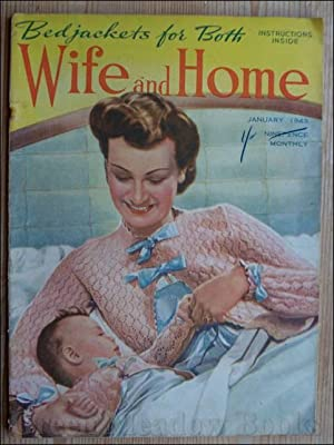 WIFE AND HOME January 1943 With Disney 'Bambi'