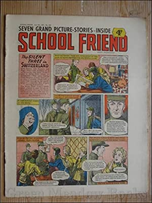 SCHOOL FRIEND June 8th 1957