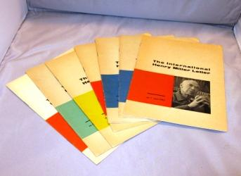 The International Henry Miller Letter. 6 of 7 Issues in the complete run from June 1961 to April of 1964.