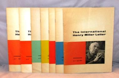 The International Henry Miller Letter. 7 issues, the complete run from June 1961 to March of 1966.