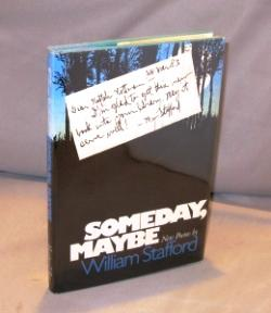 Someday, Maybe: Poems.: Stafford, William.