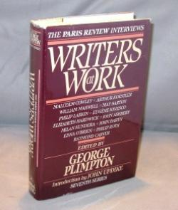 Writers at Work: The Paris Review Interviews. Seventh Series.: Literary Interviews) George Plimpton...
