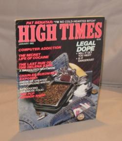 High Times. Number 77. January 1982.: Bukowski, Charles.