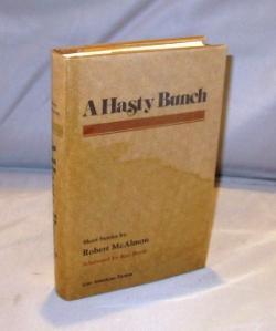 A Hasty Bunch: Short Stories.: McAlmon, Robert.
