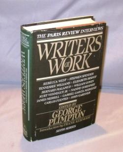 Writers at Work: The Paris Review Interviews. Sixth Series. Edied by George Plimpton.