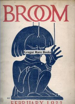 Broom. An International Magazine of the Arts. February 1922. Vol. 1, No. 4.: Edited By Harold Loeb ...