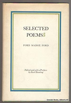 Selected Poems.: FORD, Ford Madox.