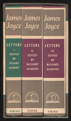 Letters of James Joyce (three volume boxed: JOYCE, James.