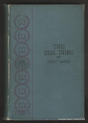 Real Thing and Other Tales.: JAMES, Henry.